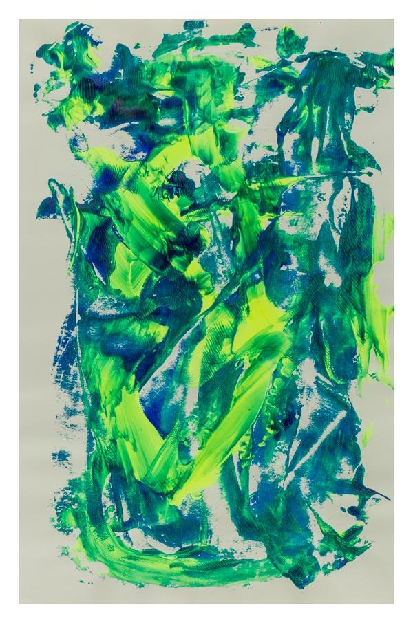 Groen en geel fluorescerend 33 op 50 cm | Te Koop