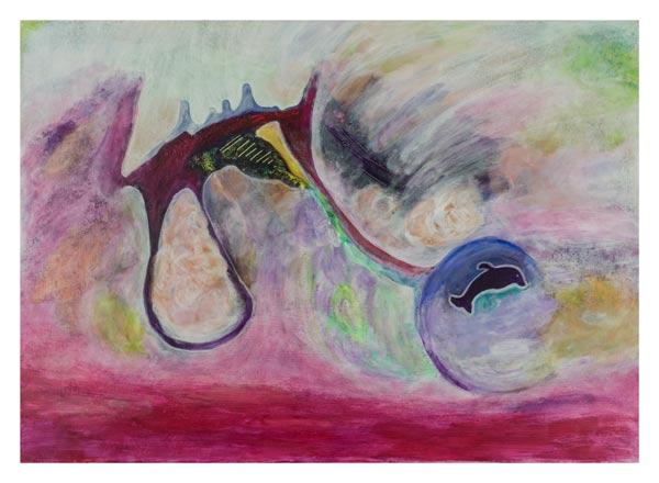 Dolfijntje 50 op 70 cm  | Te Koop