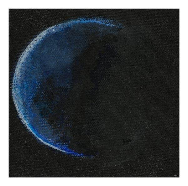 De aarde in het donker 10 op 10 cm | Te Koop