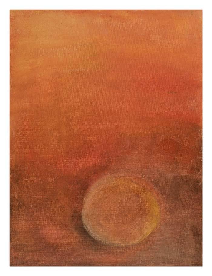 Zonsondergang boven Voorburg 2 30 op 40 cm | Te Koop