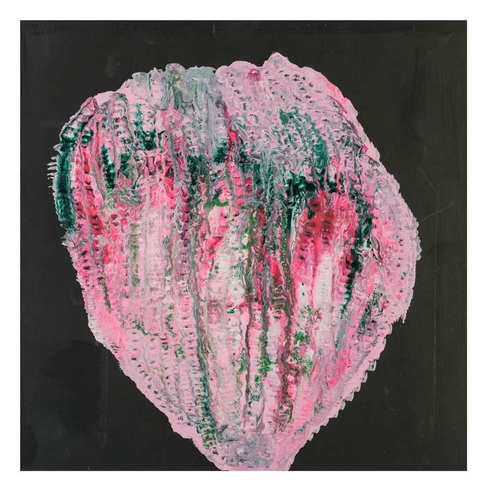 Groen roze en witte fantasie aardbei 40 op 40 cm | Te Koop