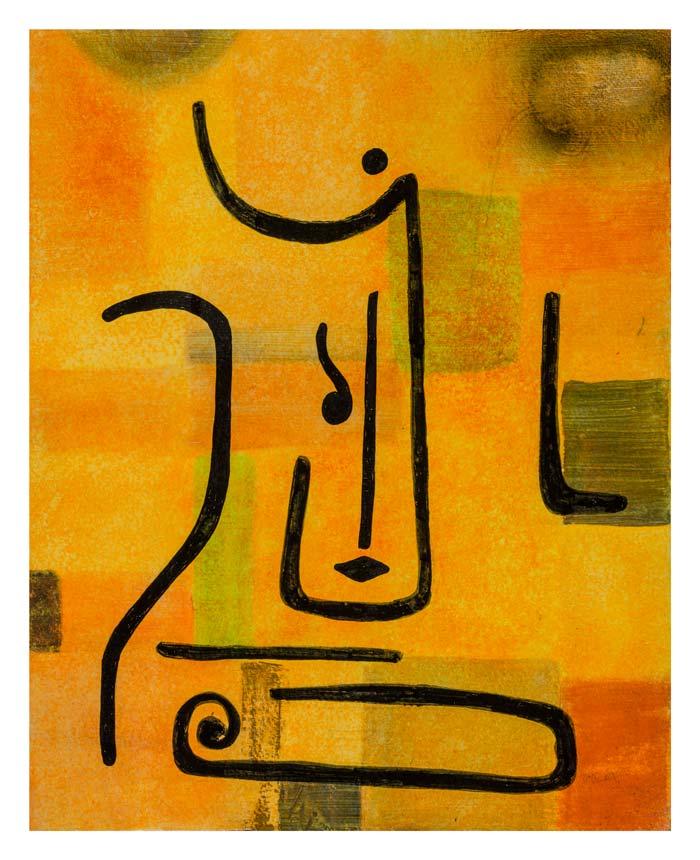 Aartsengel naar Klee 24 op 30 cm | Te Koop