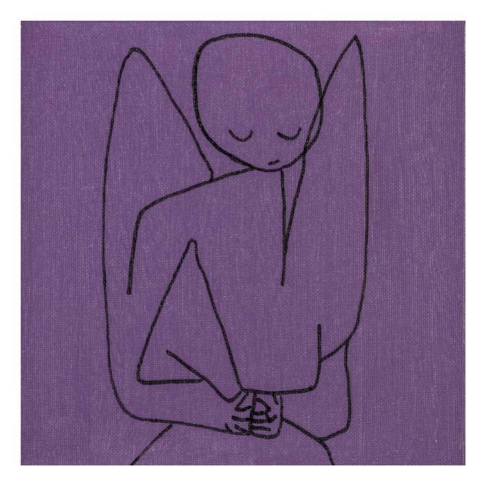 Betovering naar Klee 20 op 20 cm| in private collectie in Olen België